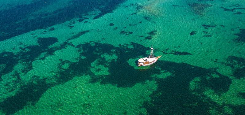 Αεροφωτογραφιες Drone , Εναέρια φωτογράφηση | Κόλπος Βουρβουρού, Χαλκιδική