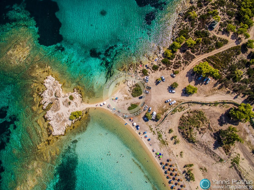 Sithonia, Halkidiki Αεροφωτογραφιες Drone - Aerial Photography Greece