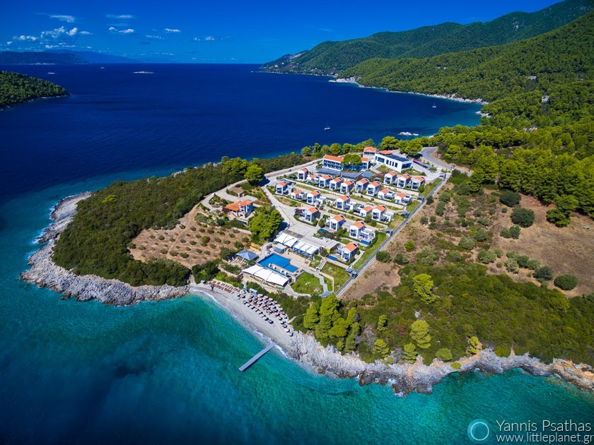 Adrina Resort Aerial Photography Greece - Drone Services Greece