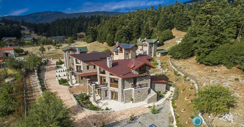 VIP Chalet Parnassos Aerial Photography Greece - Aerial Photographer