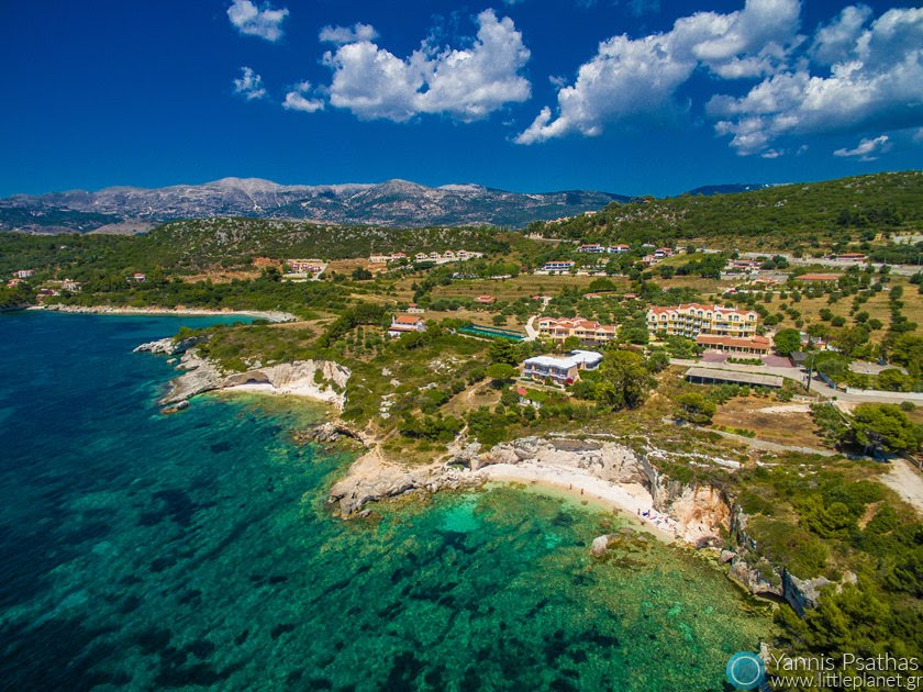Lassi, Cephalonia Aerial Photographer - Aerial Photography Greece