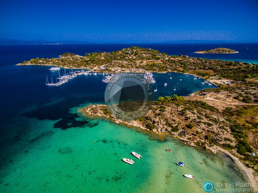 Vourvourou, Greece Aerial Photographer - Aerial Photography Greece