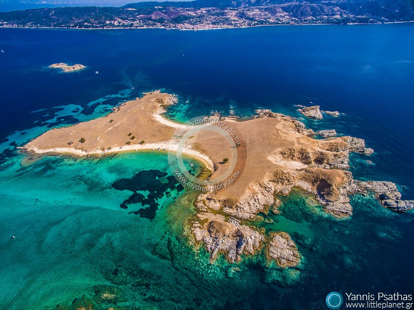 Gaidoronissia Islands, Greece Aerial Photography Greece - Aerial Photographer