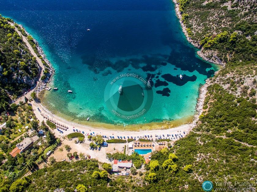 Aεροφωτογραφηση , Φωτογράφιση Drone | Γλιστέρι, Σκόπελος