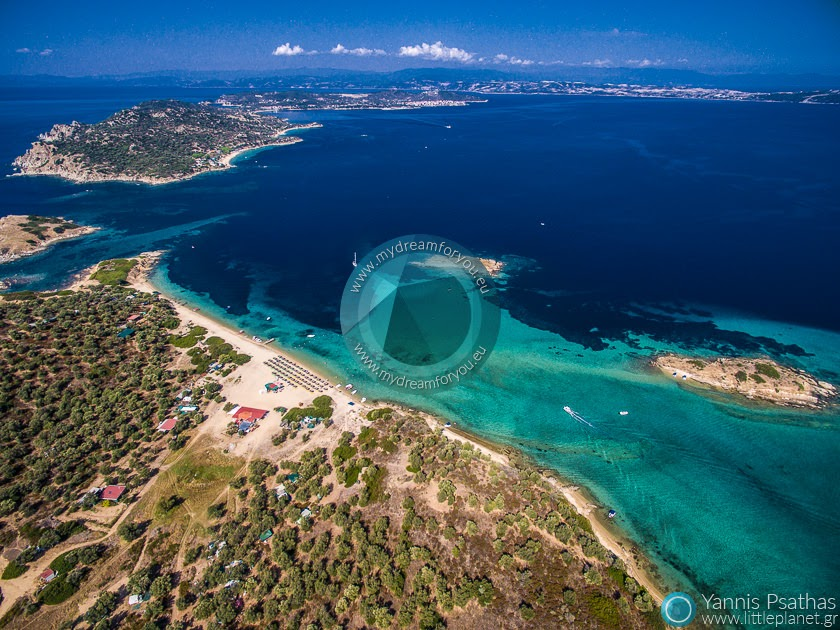 Gaidouronissi, Greece Aerial Hotel Photography - Drone Services Greece