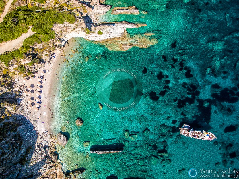 Agios Ioannis, Skopelos Drone Services Greece - Aerial Hotel Photography