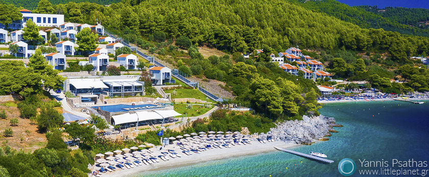 Adrina Resort Aerial Photography Greece - Aerial Photographer
