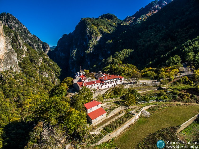 Stomio Monasteri, Konitsa Aerial Photography Greece - Aerial Photographer