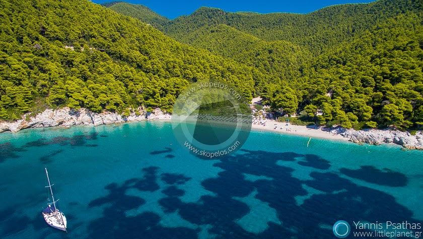 Aεροφωτογραφηση , Εναέρια φωτογράφηση | Ακτή Μηλιά, Σκόπελος