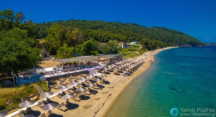 Navagos Beach Bar Αεροφωτογραφιες Drone - Aerial Photography Greece