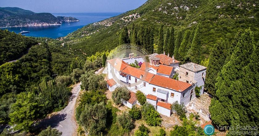 Εναέρια φωτογράφηση , Aεροφωτογραφηση | Ιερά Μονή Σωτήρος, Σκόπελος