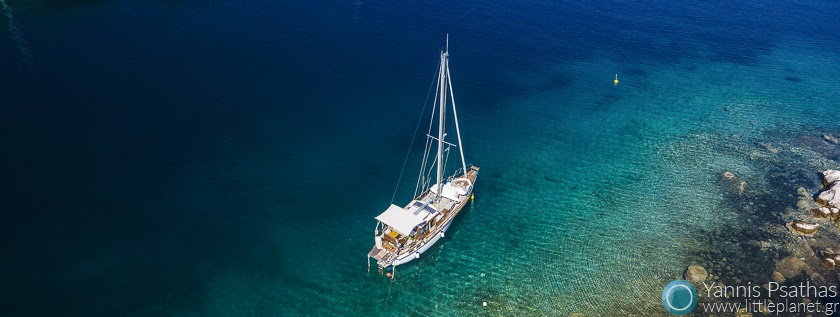 Yachting Greece Aerial Hotel Photography - Drone Services Greece