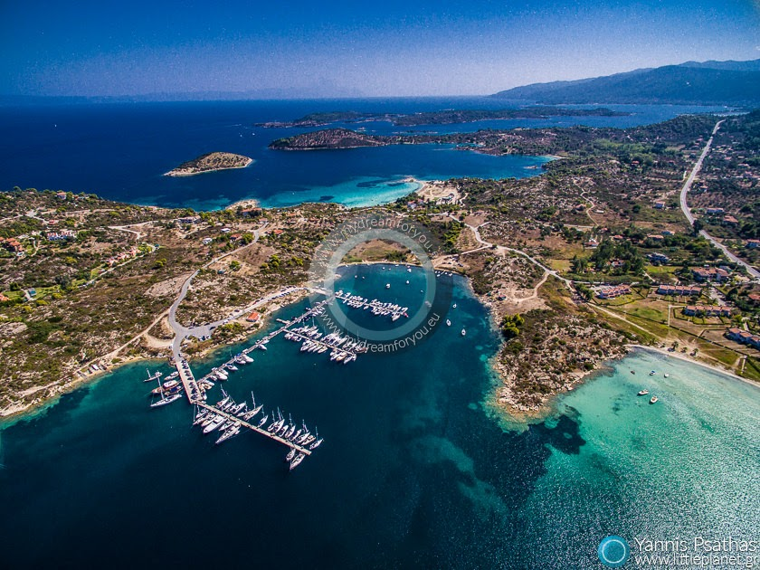 Vourvourou, Chalkidiki Drone Services Greece - Aerial Hotel Photography