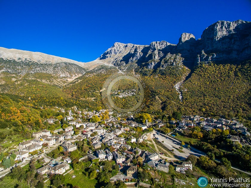 Papigo Zagorochoria Aerial Photography Greece - Aerial Photographer