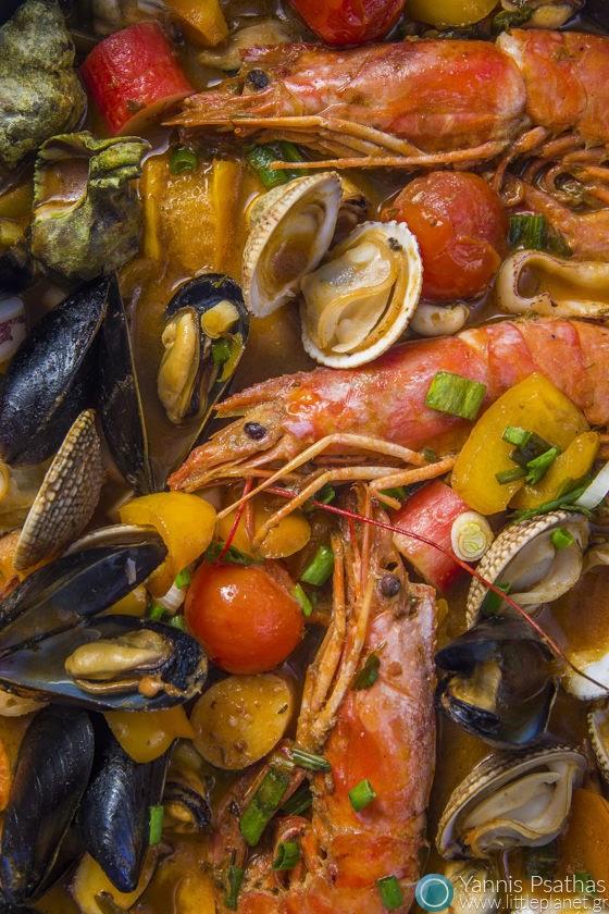 Επαγγελματική φωτογράφηση φαγητού - Frutti di Mare