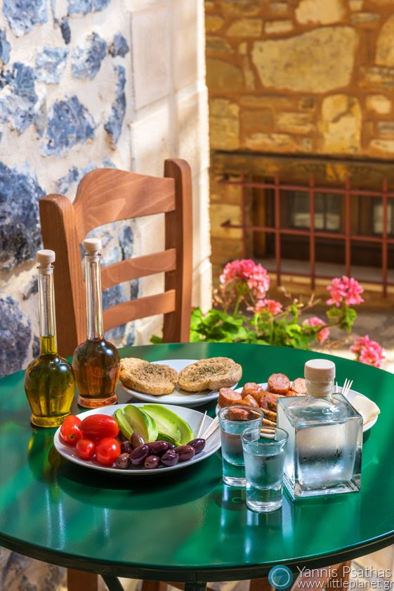 Crete Food - Photographing of hotels