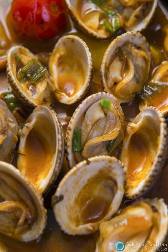 Φωτογράφιση Τροφίμων, Φωτογράφιση Πιάτων Μαγειρικης - Αχιβάδες Αχνιστές