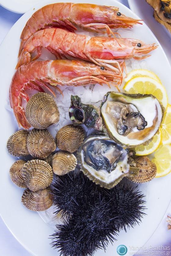 Επαγγελματική φωτογραφία Εστιατορίων, Φωτογράφος Φαγητού - Frutti di Mare