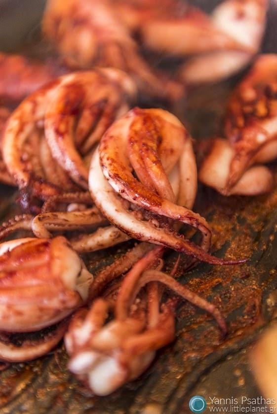 Φωτογραφία Φαγητού, Επαγγελματικες Φωτογραφίες Φαγητών - Calamares a la plancha