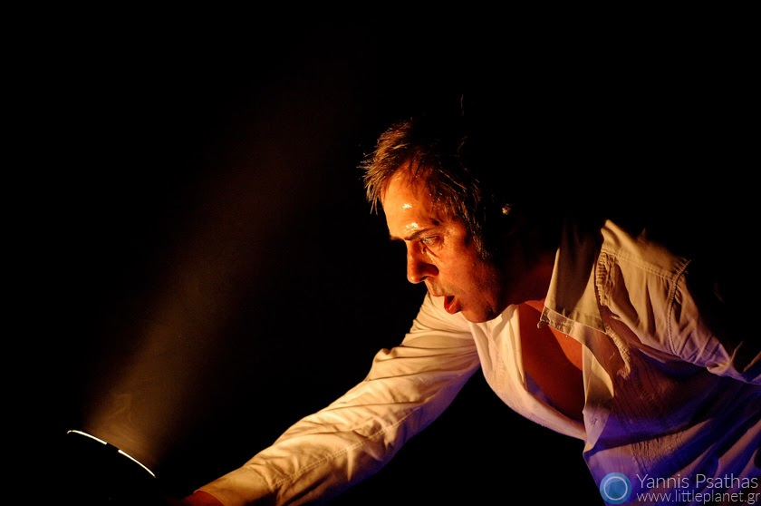 Peter Murphy of Bauhaus. Coverage for the Rolling Stone Magazine