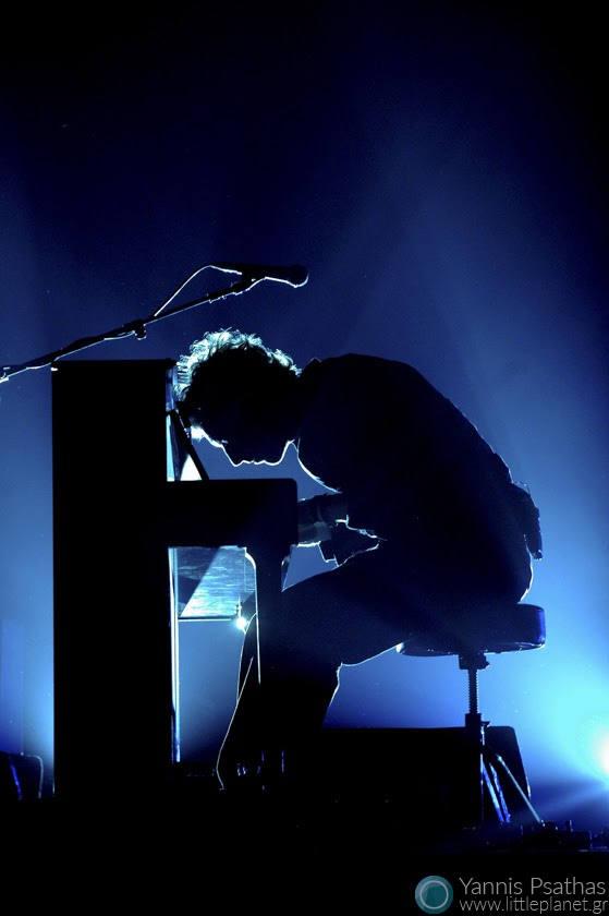 Chris Martin of Coldplay. Music Photography for the Rolling Stone Magazine
