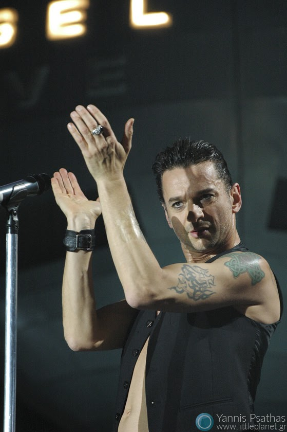 Dave Gahan live with Depeche Mode, for the Rolling Stone Magazine
