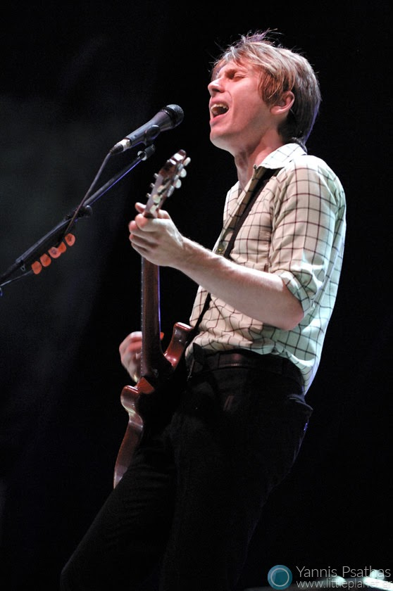 Franz Ferdinand live in Madrid Spain. Coverage for the Rolling Stone Magazine