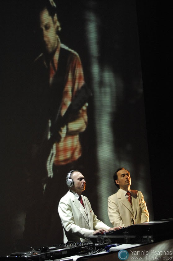 Gotan Project performing live at Principal Club Theater Thessaloniki
