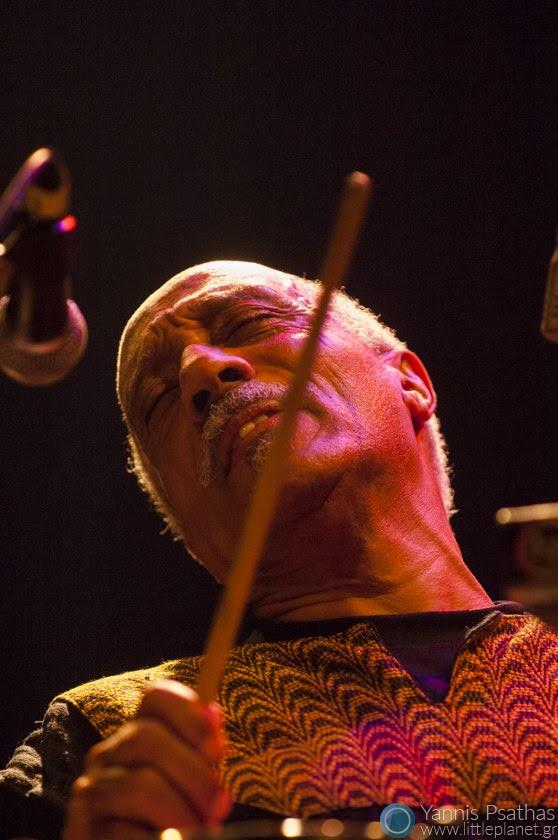 Mulatu Astatke performing Live in Principal Club Theater, Thessaloniki