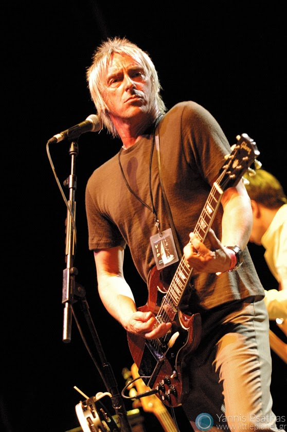 Paul Weller performing live in Madrid.Coverage for the Rolling Stone Magazine