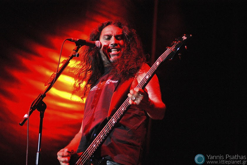 Slayer performing in Spain. Coverage for the Rolling Stone Magazine