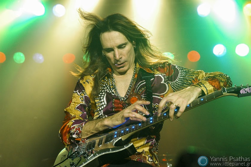 Steve Vai live performance in Madrid, Spain. Coverage for the Rolling Stone Magazine