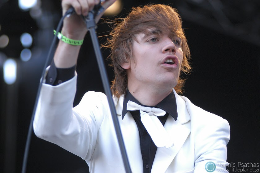 The Hives live concert in Spain. Photo for the Rolling Stone Magazine