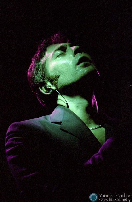 Stuart A. Staples form Tindersticks in live concert