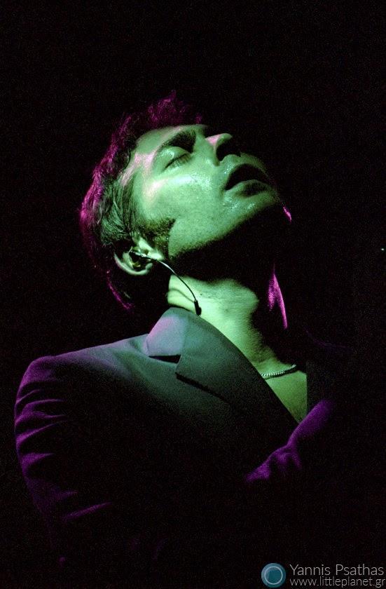 Stuart A. Staples from Tindersticks, live concert in Mylos Club, Thessaloniki