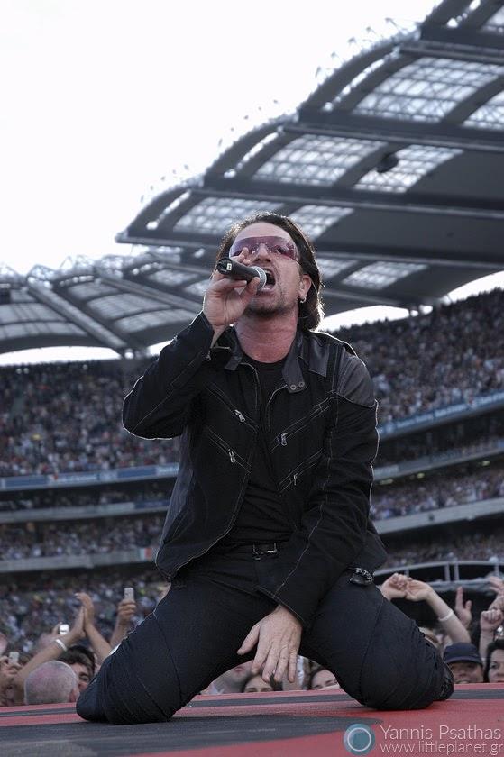 Bono - U2 Live in Croke Park, Dublin / Rolling Stone Magazine