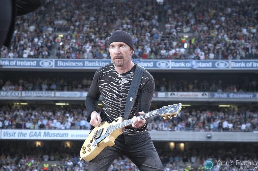 Edge - U2 Live in Croke Park, Dublin / Rolling Stone Magazine