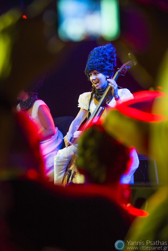 Dakhabrakha performing live in Womex Festival