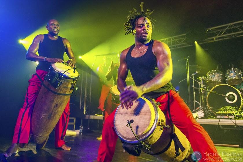 Les Tambours De Brazza in Womex Festival