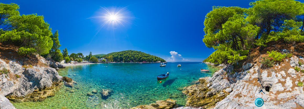 Skopelos - Panoramic Photography, Virtual Tours