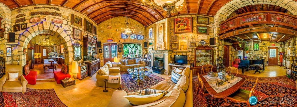 Εσωτερικό κατοικίας στη Χαλκιδική - Εικονικές Περιηγήσεις, Δημιουργία Virtual Tours