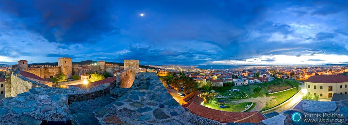 Επταπύργιο Θεσσαλονίκης - Εικονική Περιήγηση, Πανόραμα 360°