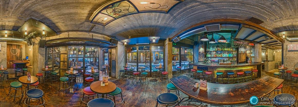 Pantheon Cafe Bar Thessaloniki - Panoramic Photography, Virtual Tours