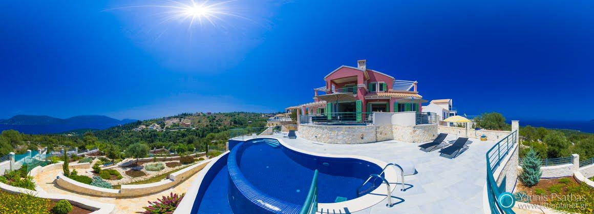 Εξοχική κατοικιά - Virtual Tours, Πανόραμα 360°, Πανοραμική Φωτογράφιση 360°