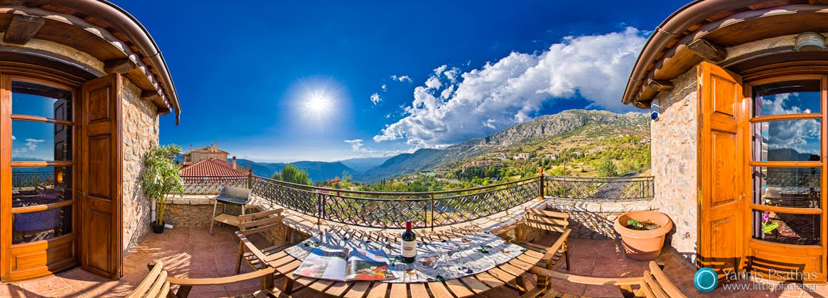 Virtual Tour in Arachova - Vip Suites Arachova - Virtual Tours, Panorama 360 °, Panoramic 360 ° Shooting