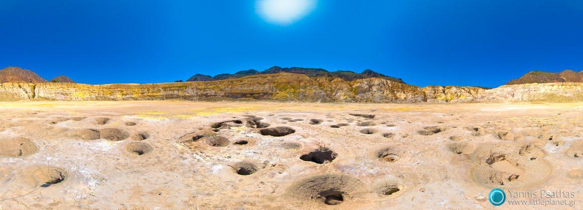 Ηφαίστειο Νισύρου - Εικονικές Περιηγήσεις, Δημιουργία Virtual Tours