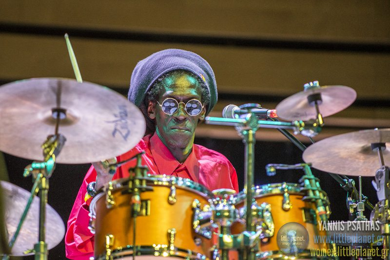 Cheikh Lo live concert at WOMEX Festival 2015 Awards in Budapest © Yannis Psathas Music Photographer