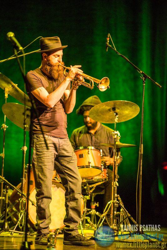 Avishai Cohen Triveni live concert at WOMEX Festival 2015 in Budapest © Yannis Psathas Music Photographer