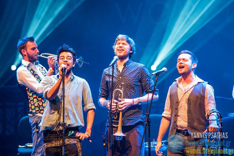 Federspiel live concert at WOMEX Festival 2015 in Budapest © Yannis Psathas Concert Photographer