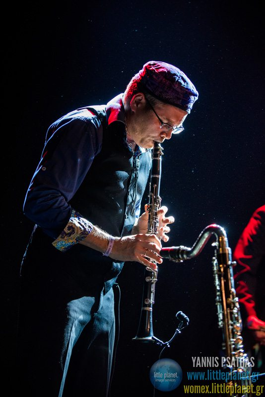 Kleztory live concert at WOMEX Festival 2015 in Budapest © Yannis Psathas Concert Photographer